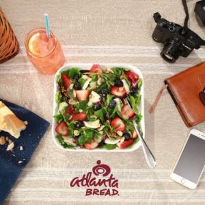 Arcadian Spinach Berry Salad