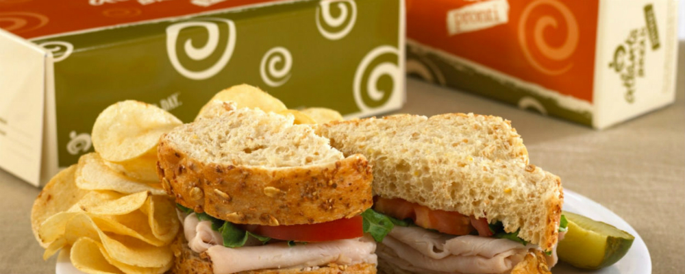 box lunch sandwich catering
